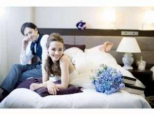 結婚式後の宿泊にもご利用頂けます。