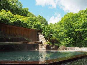豊かな自然が宿る 源泉かけ流しの湯