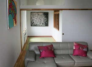 くつろぎの和室。お布団対応できます。