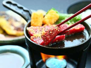 - ステーキ - 人気メニューの一つです♪※ご夕食内容は日替わりとなります