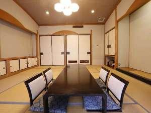 【新館和室12帖】「秋桜」全景