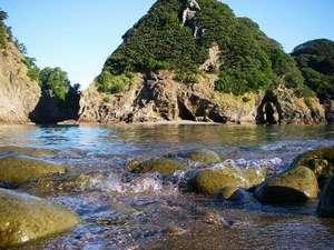 景観も美しい海水浴場