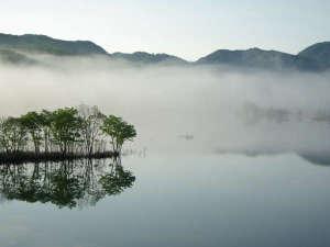 【早朝の奥州湖】カヤック体験で神秘的な景色を