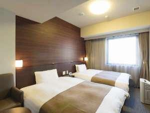 ◆ツインルーム26平米 ベッド幅120cm×195cm×2台