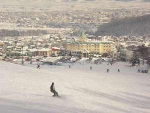ナトゥールヴァルト富良野はスキー場から目の前です!!