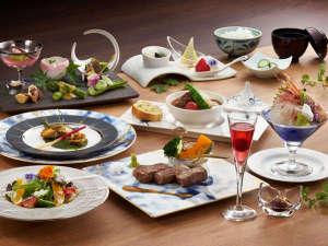 【黒毛和牛会席】量より質に拘った 月岡温泉 摩周 のオリジナル会席料理。