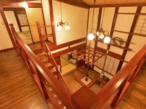 *弐の蔵/吹き抜けになっている広々とした空間です。開放感をお楽しみください。