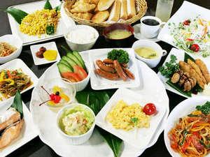 グリーンリッチホテル鹿児島天文館!朝食バイキングイメージ
