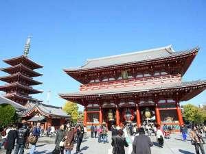 浅草寺と五重塔