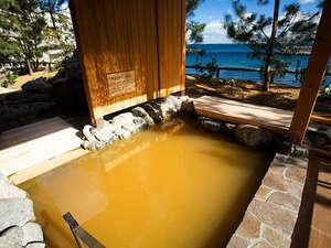 【くにうみの湯】 洲本温泉の中でも2つの源泉を愉しめるのはホテルニューアワジグループだけ。