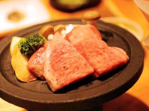 北信州美雪和牛と信州プレミアム牛の食べ比べステーキ