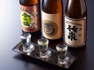 人気の地酒飲み比べ