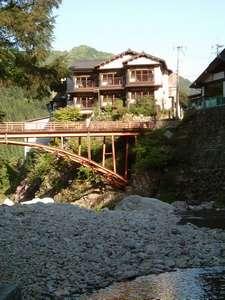 三段峡ホテル 外観