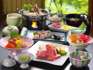料理コース一例