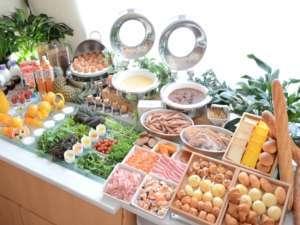 メインレストラン「カサブランカ」朝食バイキング(一例)