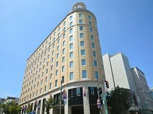ホテル外観 海が見える街,小樽に客船をモチーフに造られた195の客室