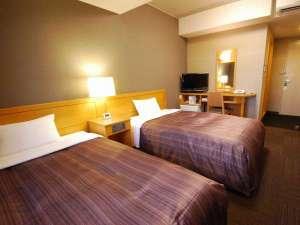 ◆ツインルーム◆客室面積約17㎡ 120cm幅ベッド<H28年10月改装>