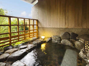 ■貸切風呂-流星-■優しい風に吹かれて、のんびり湯に浸かる。大切な人とゆっくりと♪