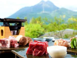 由布岳を身近に感じ食す豊後の幸。人気の九州産黒毛和牛や豊のしゃもなどお楽しみ下さい。