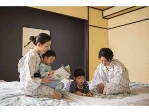 やっぱり和室は落ち着きます。家族一緒がいいね。