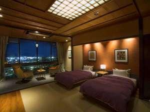 【652号室・赤烏~せきう】和洋スイートルーム 天然温泉100%内風呂付の一例