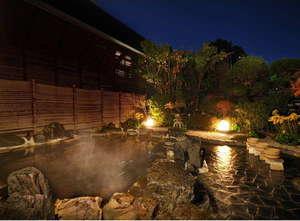 季節を感じる露天風呂「湯の岳」