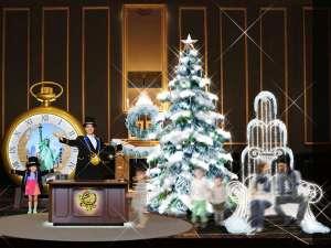 ウィンターデコレーション(12/26~) クリスマス後はツリーがウィンターバージョンへ変身!