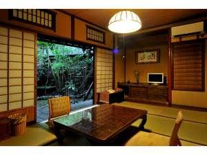 本館客室和室8畳一間一例です。