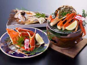 レッドタグ付活き松葉蟹:贅沢プラン