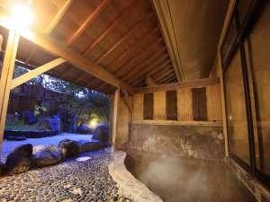 【女性大浴場露天風呂】夜は綺麗な星空がご覧頂けます☆