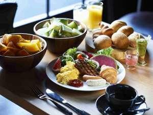 【朝食イメージ】朝食盛り付け例