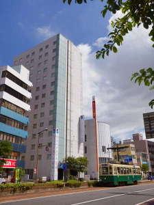 ★【ホテル】長崎駅徒歩8分とビジネス、観光にも便利な立地。