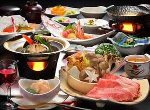 地場の野菜を使った当館おすすめの和食膳