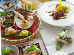 【特選会席】料理師範の料理長が考案した季節の会席料理