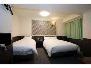 ツインルーム◇シモンズのベット設置☆※別料金でベットを1台追加できますがお部屋が狭くなります★
