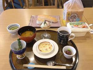 ・無料提供の軽朝食の一例