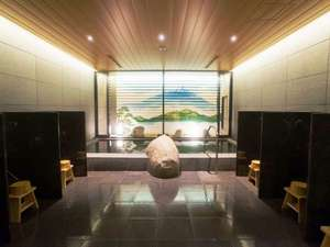 【大浴場】「雲海の湯(うんかいのゆ)」癒やしの大浴場でくつろぎのバスタイムを。