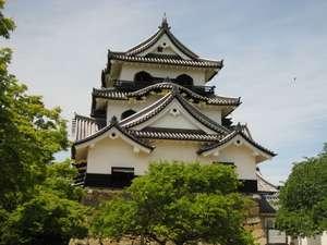 【国宝彦根城】当ホテルからは徒歩約20分。四季折々の姿をお楽しみ下さい♪