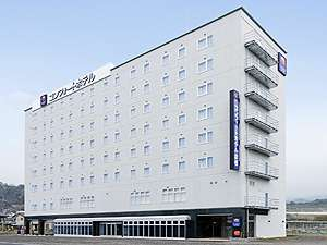 【ホテル外観】JR・近江鉄道彦根駅・東口目の前!駐車場は無料!