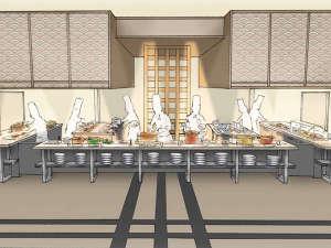 料理長厨房ビュッフェイメージ