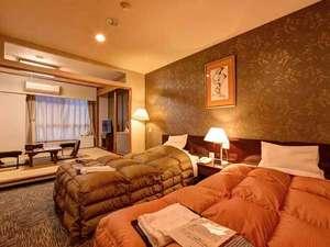 *特別和洋室(客室一例)/和と洋、両方の良さを味わえる客室。安眠の夜をお過ごし下さい。