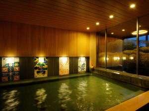 【大浴場】2017年7月1日にリニューアル!加賀伝統工芸でご当地感ある内装に生まれ変わりました