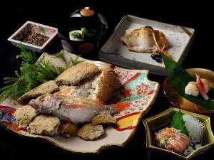 【春の特別会席】お造り、塩焼き、蒸し物に寿司と、北陸ならではの「のどぐろづくし」をご堪能いただけます