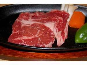 あつあつ鉄板ビーフステーキ