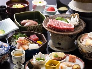 島根和牛会席は通年人気があります!