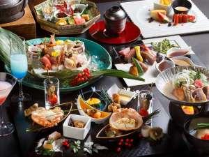 【2017冬のお献立】和食とフレンチを融合し、食材の魅力を最大限に引き出す和洋会席