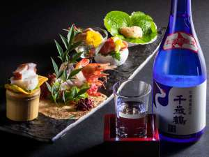【2019夏のお献立】お造りには日本酒を合わせて