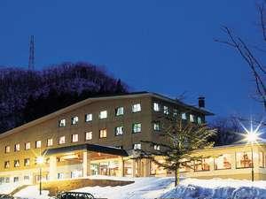 冬の当館です。静寂なひとときをお楽しみください。