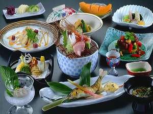 【松ぷらん】贅沢な食材で豪華に!(料理イメージ)※月替りの会席料理 口コミ夕食4.7★