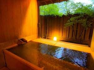 【東館B1・無料貸切露天風呂・二人静】貸切利用は23時までです。譲りあってのご利用をお願いします。